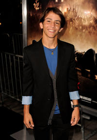 Brady Hender at the California premiere of