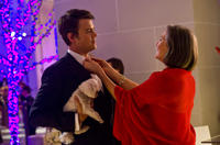 Josh Duhamel as Sam and Cherry Jones as Mrs. Ahern in