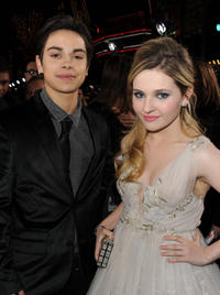 Jake T. Austin and Abigail Breslin at the California premiere of