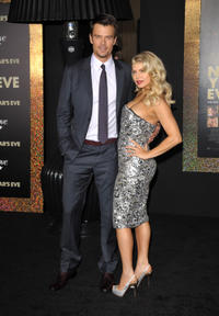 Josh Duhamel and Stacy Ann Ferguson at the California premiere of