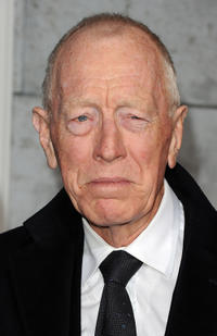 Max von Sydow at the California premiere of