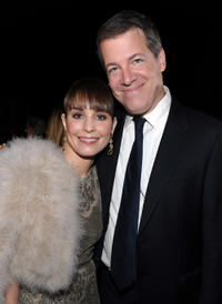 Noomi Rapace and producer Lionel Wigram at the California premiere of