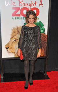 Stephanie Szostak at the New York premiere of