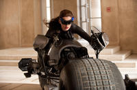 Anne Hathaway as Catwoman in