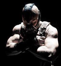 Tom Hardy as Bane in