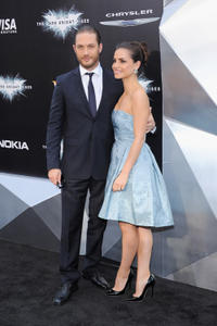 Tom Hardy and Charlotte Riley at the New York premiere of