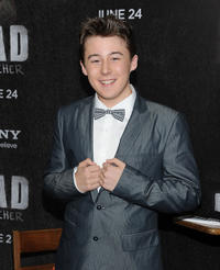 Matthew J. Evans at the New York premiere of