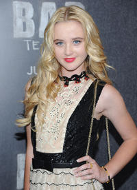 Kathryn Newton at the New York premiere of