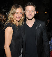 Cameron Diaz and Justin Timberlake at the after party of the New York premiere of