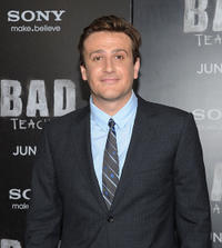 Jason Segel at the New York premiere of