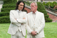 Russell Brand as Arthur and Nick Nolte as Burt Johnson in