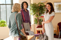Greta Gerwig as Naomi, Russell Brand as Arthur and Jennifer Garner as Susan in