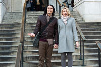 Russell Brand as Arthur and Greta Gerwig as Naomi in