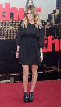 Olivia Lee at the London premiere of