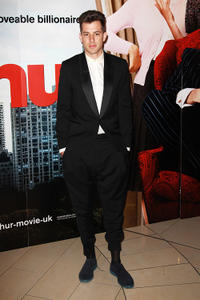 Mark Ronson at the London premiere of