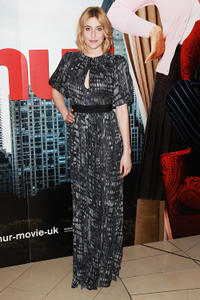 Greta Gerwig at the London premiere of