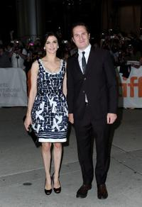 Rachel Weisz and Darren Aronofsky at the Canada premiere of
