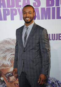 Isaiah Mustafa at the California screening of