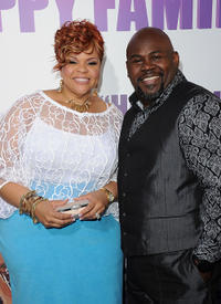 Tamela Mann and David Mann at the California screening of