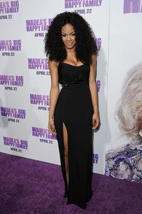 Teyana Taylor at the California screening of