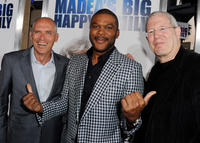 Joe Drake, Tyler Perry and Michael Paseornek at the California screening of