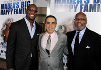 Executive Producer Roger Bobb, executive producer Ozzie Areu and producer Reuben Cannon at the California screening of