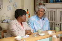 Loretta Devine as Shirley and Tyler Perry as Madea in