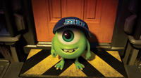 Mike Wazowski voiced by Billy Crystal in