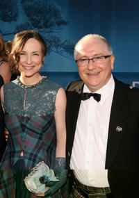 Singer Julie Fowlis and composer Patrick Doyle at the California premiere of