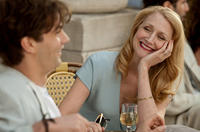 Jim Sturgess as Dexter Mayhew and Patricia Clarkson as Alison in