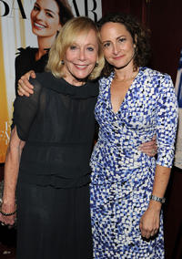 Sandy Jacobson and producer Nina Jacobson at the New York premiere of