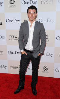Musician Kevin Jonas at the New York premiere of