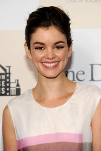 Nora Zehetner at the New York premiere of