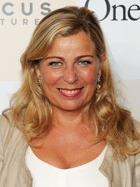 Director Lone Scherfig at the New York premiere of