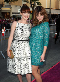 Ellie Kemper and Abby Elliott at the California premiere of