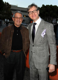 Universal Studios President and COO Ron Meyer and director/executive producer Paul Feig at the California premiere of