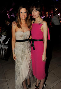 Kristen Wiig and Rose Byrne at the California premiere of