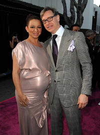 Maya Rudolph and director Paul Feig at the California premiere of