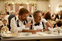 Paul Giamatti as Barney and Dustin Hoffman as Izzy in
