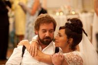Paul Giamatti as Barney and Minnie Driver as 2nd Mrs.