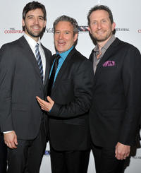 Producer Bill Holderman, executive producer Webster Stone and producer Brian Falk at the New York premiere of