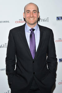 Screenwriter James D. Solomon at the New York premiere of
