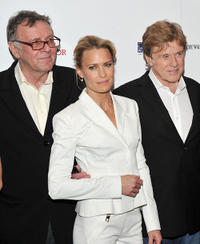 Tom Wilkinson, Robin Wright and Robert Redford at the New York premiere of