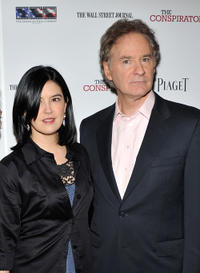 Phoebe Cates and Kevin Kline at the New York premiere of