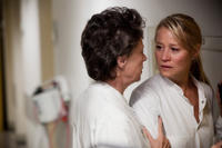 Birthe Neumann as Nurse and Trine Dyrholm as Marianne in