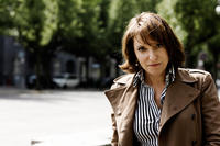 Director Susanne Bier on the set of