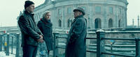 Liam Neeson as Dr. Martin Harris, Diane Kruger as Gina and Bruno Ganz as Ernst Juergen in