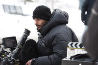 Director Jaume Collet-Serra on the set of
