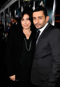Sue Kroll and director Jaume Collet-Serra at the California premiere of