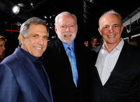Producer Leonard J. Goldberg and Guests at the California premiere of